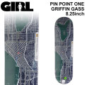 GIRL ガール スケートボード デッキ PINPOINT ONE SERIES GRIFFIN GASS グリフィン・ガス [GL-50] 8.25inch スケボー パーツ SKATE BOARD DECK