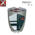 デッキパッド ショートボード用 X-TRAK エックストラック PRESTO 3ピース