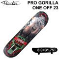 PRIMITIVE DECK プリミティブ デッキ ティアゴ レモス PRO GORILLA ONE OFF 23 プロ ゴリラ 8.0インチ スケートボード スケボー P-[5]