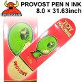 TOY MACHINE トイマシーン スケートボード デッキ PROVOST PEN N INK (8.0× 31.63) [TM-5] スケートデッキ スケボー パーツ SK8 SKATE BOARD DECK