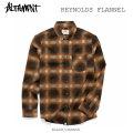 ALTAMONT アルタモント REYNOLDS FLANNEL フランネル ネルシャツ オルタモント スケートボードウェア