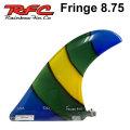 Rainbow Fin レインボーフィン Fringe 8.75 [277] ステンドグラス ロングボード センターフィン シングル フィン