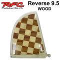 Rainbow Fin レインボーフィン Reverse WOOD 9.5 [286] ステンドグラス ロングボード センターフィン シングル フィン