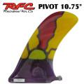 Rainbow Fin レインボーフィン Pivot ピボット [65] 10.75 ステンドグラス ロングボード用フィン