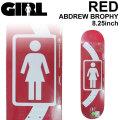 GIRL ガール スケートボード デッキ RED ANDREW BROPHY アンドリュー・ブロフィー [GL-9] スケボー パーツ SKATE BOARD DECK