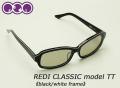 [代引き手数料無料]REDI CLASSIC レダイ クラシック サングラス MODEL TT BLACK 玉井太郎 モデルTT 偏光レンズ