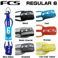 リーシュコード ショートボード用 FCS リーシュコード REGULAR 6 FEET レギュラー 6 フィート リーシュコード サーフィン