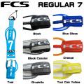 リーシュコード ファンボード用 FCS リーシュコード REGULAR 7 FEET レギュラー 7 フィート リーシュコード サーフィン