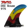 Rainbow Fin レインボーフィン Staind Glass Fin DOG HOUSE [34] 9'75 ステンドグラス ロングボード用フィン
