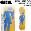 GIRL ガール スケートボード デッキ ROLLER OG GRIFFIN GASS グリフィン・ガス [GL-22] 7.75inch スケボー パーツ SKATE BOARD DECK