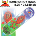 TOY MACHINE トイマシーン スケートボード デッキ ROMERO ROY ROCK (8.25× 31.88) [TM-8] スケートデッキ スケボー パーツ SK8 SKATE BOARD DECK