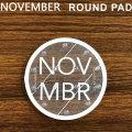 18-19 ノベンバー NOVEMBER  スノーボード デッキパッド ROUND PAD