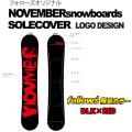 NOVEMBER 【ノベンバー】 スノーボード ソールカバーfollowsオリジナルカラー 【ネオプレーン】 ノーベンバー