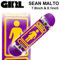 GIRL ガール スケートボード コンプリート SEAN MALTO ショーン・マルト [GL-133] [GL-134]  完成品 スケボー SKATE BOARD COMPLETE