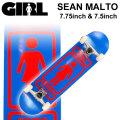GIRL ガール スケートボード コンプリート SEAN MALTO ショーン・マルト [GL-135] [GL-136]  完成品 スケボー SKATE BOARD COMPLETE