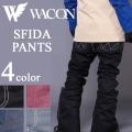 18-19 WACON スノーボードウェア メンズ パンツ SFIDA スフィーダ ワコン スノボパンツ