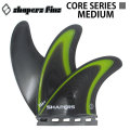 SHAPERS FIN シェイパーズフィン CORE SERIES III コアシリーズ スリー MEDIUM Mサイズ トライフィン