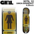 GIRL ガール スケートボード デッキ 93 TIL12 SIMON BANNEROT サイモン・バナロット [GL-5] スケボー パーツ SKATE BOARD DECK