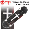 ZERO ゼロ スケートボード コンプリート THOMAS OG CROSS 8.0 × 32.0 [Z-107] スケボー SK8 完成品 組み立て済み