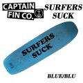 [9月入荷予定] [数量限定] CAPTAIN FIN キャプテンフィン スケートボード デッキ SURFERS SUCK サーファーズサック 8.875インチ Skateboard decks スケボー