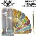 SANTA MONICA AIRLINES サンタモニカエアライン SMA スケートボード デッキ BENNET HARADA ベネット・ハラダ 原田 モデル クルージング クルーザー スケボー SK8 パーツ