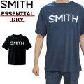 [メール便発送商品] SMITH スミス メンズ Tシャツ 半袖 ESSENTIAL DRY ドライ アパレル
