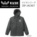 [現品限り特別価格] WACON スノーボードウェア  ナイロンフードZIP JACKET ワコン ウエア フードジャケット