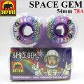 SATORI MOVEMENT WHEEL サトリムーブメント サトリウィール [S-29] SPACE GEM 54mm 78A ソフトウィール SKATE BOARD スケートボード ウィール