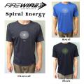 FIREWIRE SURFBOARDS【ファイヤーワイヤー】半袖Tシャツ SpiralEnergy【スパイラルエナジー】