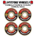 SPIT FIRE スピットファイアー ウィール F4 FORMULA FOUR CONICAL FULL 53mm 101DURO(101A) [SP27] スケートボード スケボー パーツ SKATE BOARD WHEEL SK8