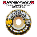 SPIT FIRE スピットファイアー ウィール F4 FORMULA FOUR CONICAL 54mm 99DURO(99A) [SP30] スケートボード スケボー パーツ SKATE BOARD WHEEL SK8