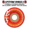 SPIT FIRE スピットファイアー ウィール F4 FORMULA FOUR OG CLASSIC GRANT TAYLOR 53mm 99DURO(99A) [SP37] スケートボード スケボー パーツ SKATE BOARD WHEEL SK8