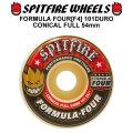 SPIT FIRE スピットファイアー ウィール F4 FORMULA FOUR CONICAL FULL 54mm 101DURO(101A) [SP17] スケートボード スケボー パーツ SKATE BOARD WHEEL SK8