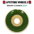 SPIT FIRE スピットファイアー ウィール CLASSICS 52mm 99DURO(99A) [SP7] スケートボード スケボー パーツ SKATE BOARD WHEEL SK8