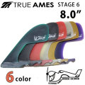 True Ames Fin トゥルーアムス フィン STAGE6 8.0  ステージ6 ロングボード用センターフィン