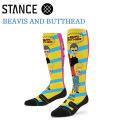 旧モデル STANCE スタンス ソックス (ACRYLIC MID) BEAVIS AND BUTTHEAD 靴下 スノーボード スキー ウィンタースポーツ メンズ 正規品