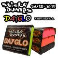 STICKY BUMPS スティッキーバンプス サーフワックス DAY GLO WAX カラーワックス サーフィン ワックス