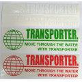 TRANSPORTER トランスポーター ステッカー カッティングシート 20cmx6cm