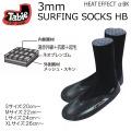 Tabie【タビー】3mm  サーフィンソックス SURFING SOCKS HB [KW4474] サーフィンブーツ