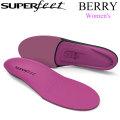[正規販売店] SUPER FEET スーパーフィート BERRY ベリー レディース インソール