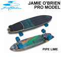 Swell Tech  スウェルテック スケートボード 34インチ JAMIE O'BRIEN Pro Model Pipe Line [S-4] コンプリート サーフスケート サーフィン トレーニング