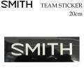 SMITH スミス ステッカー TEAM STICKER ステッカー 20cm スノーボード