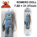 TOY MACHINE トイマシーン スケートボード デッキ ROMERO DOLL (7.88× 31.37) [TM-11] スケートデッキ スケボー パーツ SK8 SKATE BOARD DECK