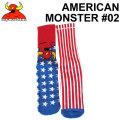 TOY MACHINE トイマシーン 靴下 ソックス AMERICAN MONSTER #02 [15] メンズ