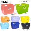 TOOLS ツールス WATER BOX ウォーターボックス スケルトン フレキシブルバケツ フレックスバケツ サーフィン バケツ 四角バケツ 便利グッズ 収納
