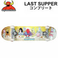 TOY MACHINE トイマシーン スケートボード コンプリート LAST SUPPER (31.625x 7.75) [3] 完成品スケボー SKATE