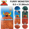 TOY MACHINE トイマシーン スケートボード コンプリート FURRY MONSTER (8.0 × 31.63) [TM-112] 完成品 スケボー SKATE BOARD COMPLETE