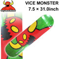 TOY MACHINE トイマシーン スケートボード デッキ VICE MONSTER (7.5 × 31.0) [TM-30A] スケートデッキ スケボー パーツ SK8 SKATE BOARD DECK
