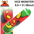 TOY MACHINE トイマシーン スケートボード デッキ VICE MONSTER (8.0 × 31.38) [TM-46A] スケートデッキ スケボー パーツ SK8 SKATE BOARD DECK