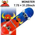 TOY MACHINE トイマシーン スケートボード followsオリジナル コンプリート MONSTER (7.75 × 31.25) [TM-11E] 完成品 スケボー SKATE BOARD COMPLETE